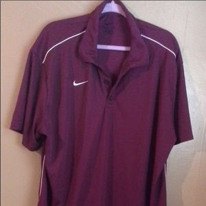 NIKE MENS DRI-FIT POLO SHIRT SIZE XL